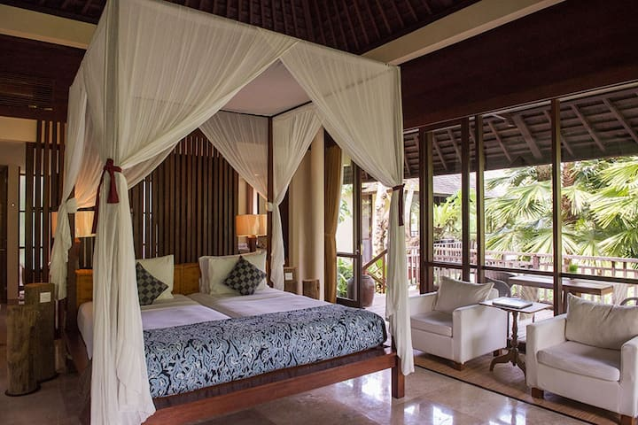 Romantic 3-Bedroom Pool Villa Ubud - Ubud - Villa