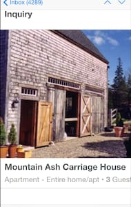 Mountain Ash Carriage House - Brooklin - Loft