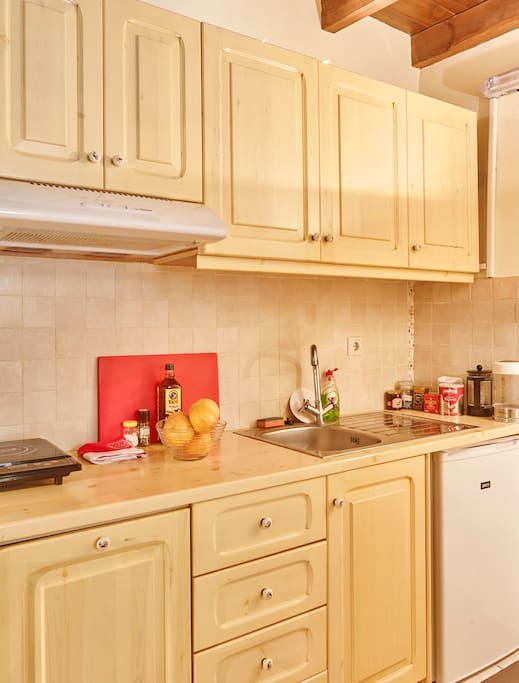 Kitchenette with all Modern Appliances