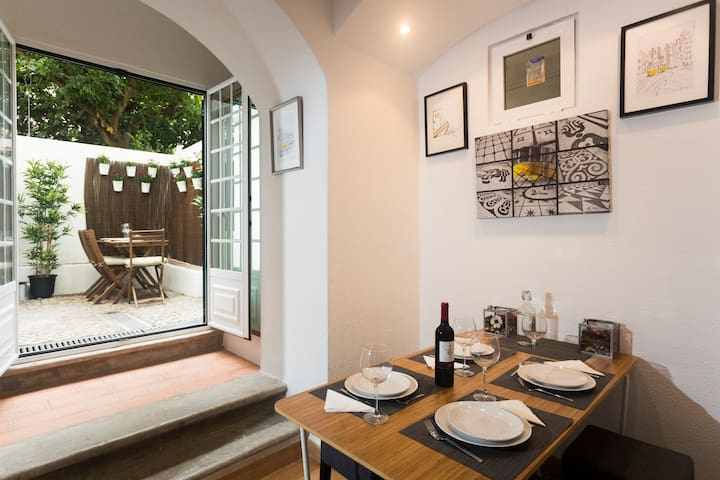 Olá Lisbon-Terrace Principe Real II - Lisboa - Apartment