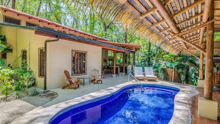 Spacious home w/ yoga deck & pool, great location!