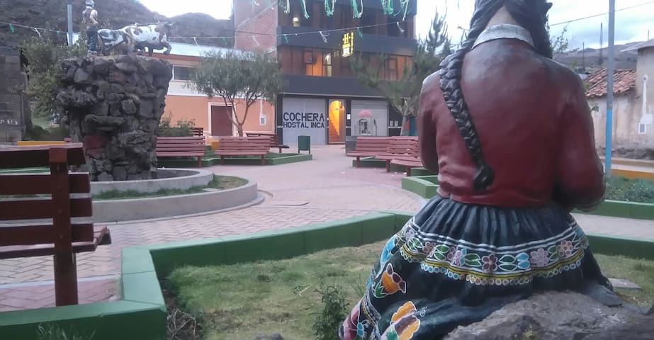 Hostal Inca, cerca a The Raimbow mountain... !!!