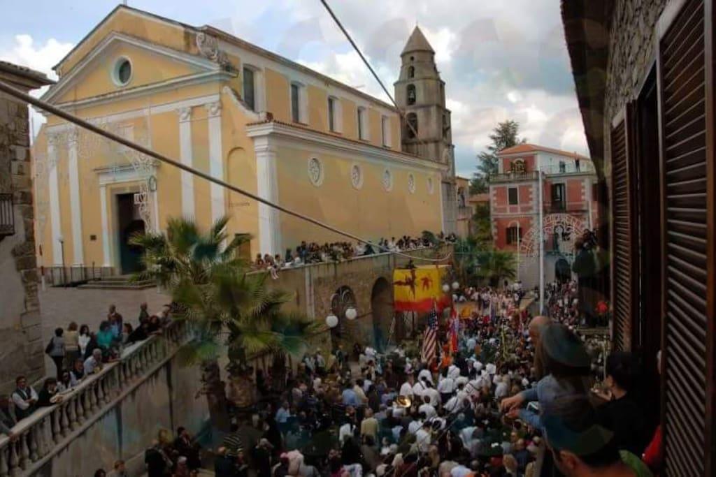 Festa patronale San Michele Arcangelo, si svolge ogni anno la seconda domenica di maggio