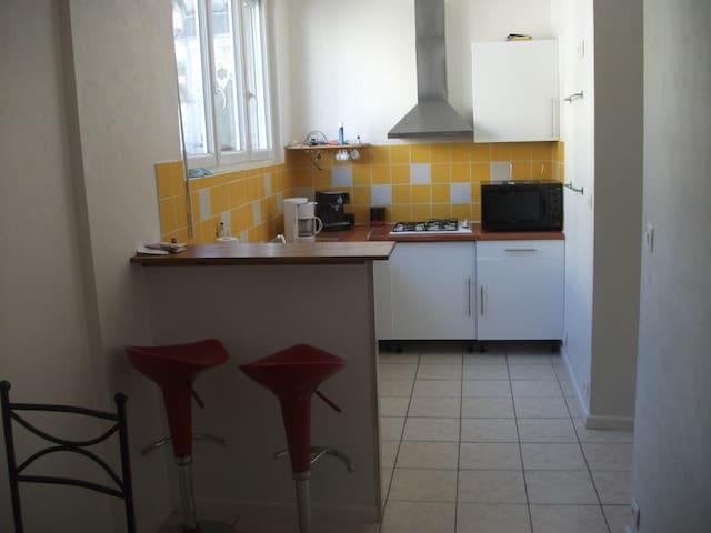 f3 refais a neuf a vals les bains - Vals-les-Bains - Apartamento