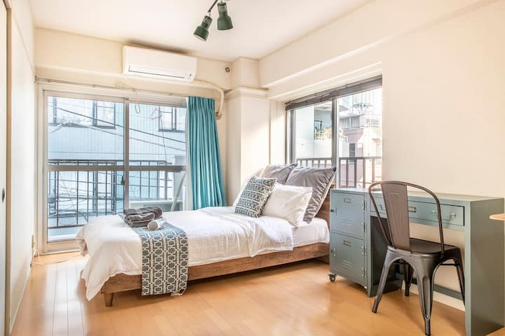 2min Shinjuku/Newly reformed cozy room /Free WiFi