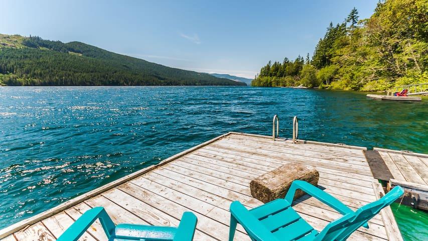 Resting Canoe Lakehouse