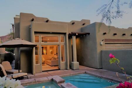 Glamorous Santa Fe Pool/Spa Home in the Cove - La Quinta