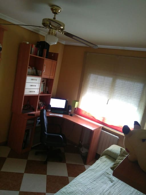 Habitaci n muy espaciosa con muy buena iluminaci n - Habitacion iluminacion ...