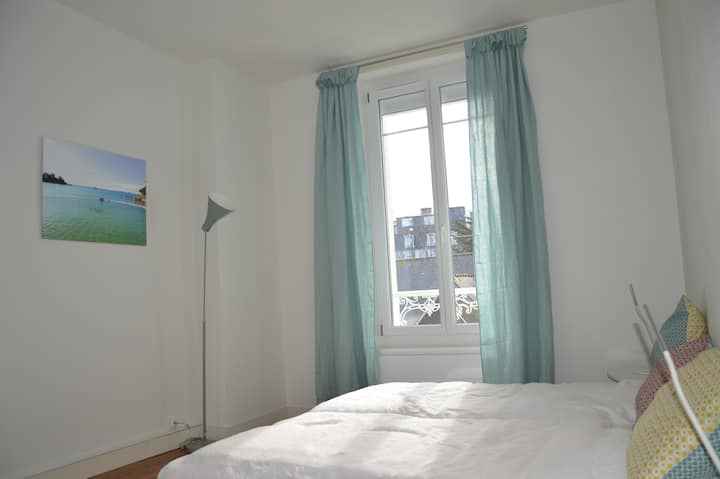 Nice 3 rooms-appartment centre 20 m from beach