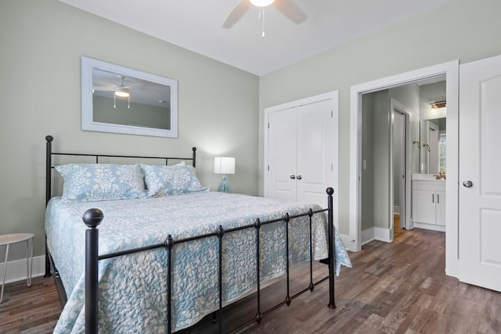 Guest Suite - separate bathroom entrance, making this room a 2nd master!