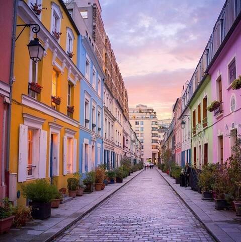 Rue Crémieux dans le même arrondissement de Paris