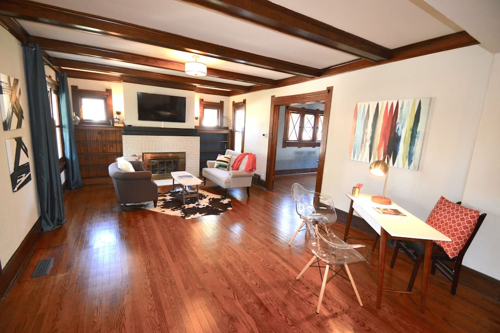 This 100 year old property has been fully renovated to make you feel at home!