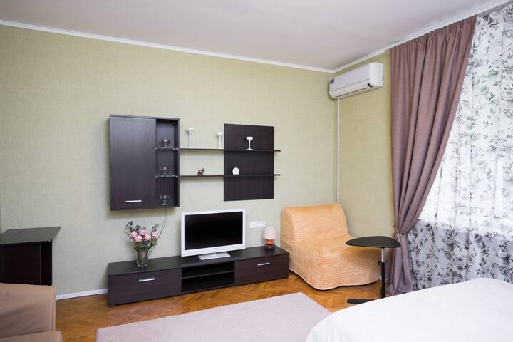 Апартаменты Moskva4you м. Киевская -5