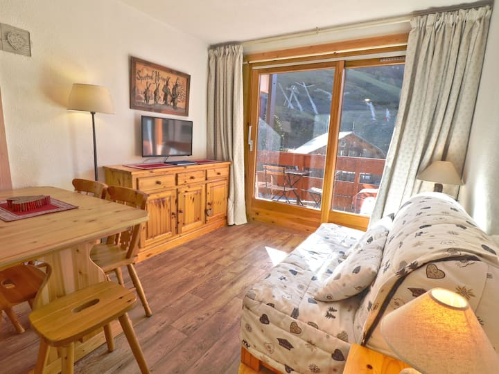 CHARMING 2 ROOMS ON SLOPES