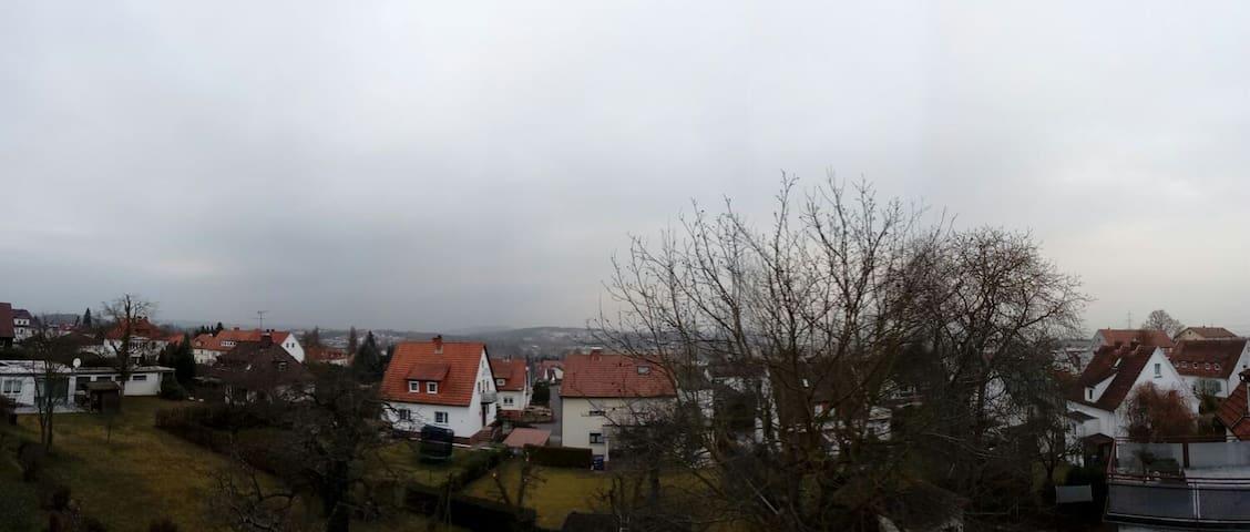 Blick über Schwalmstadt + gratis Fitnessstudio - Schwalmstadt - Ev