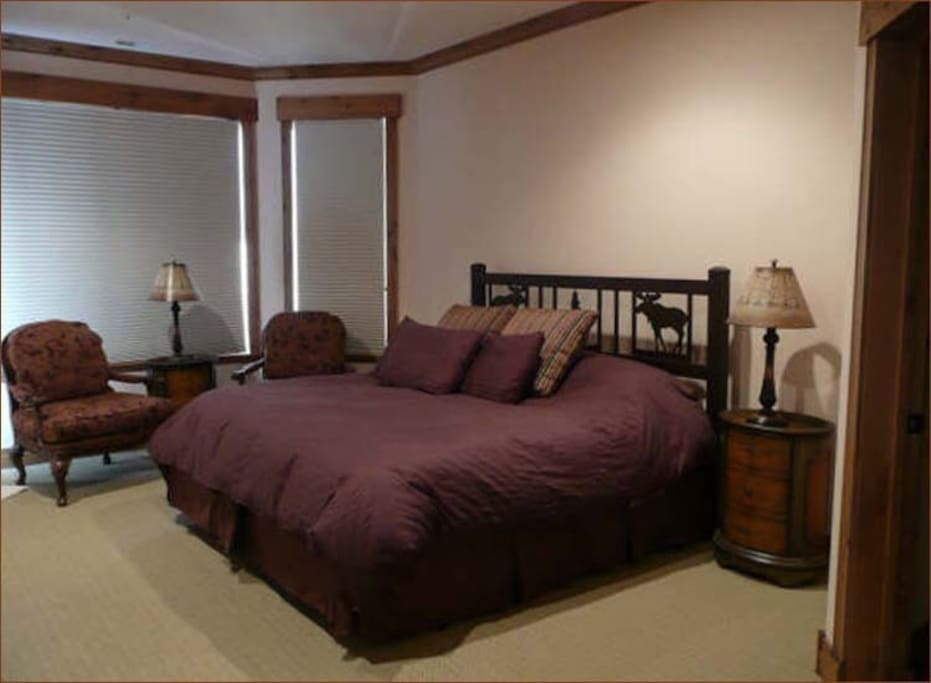 Fourth master suite with large closet and full bath. Opens to the hot tub,