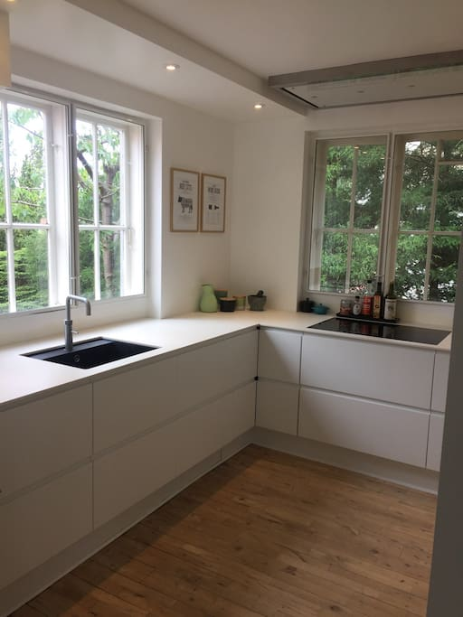 Kitchen with dishwasher, oven, quooker etc.