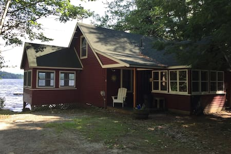 Maine Cabin on beautiful Lake Keewaydin