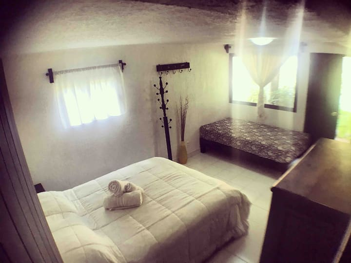 Beautiful Double Room in Tepoztlan (Room #1)