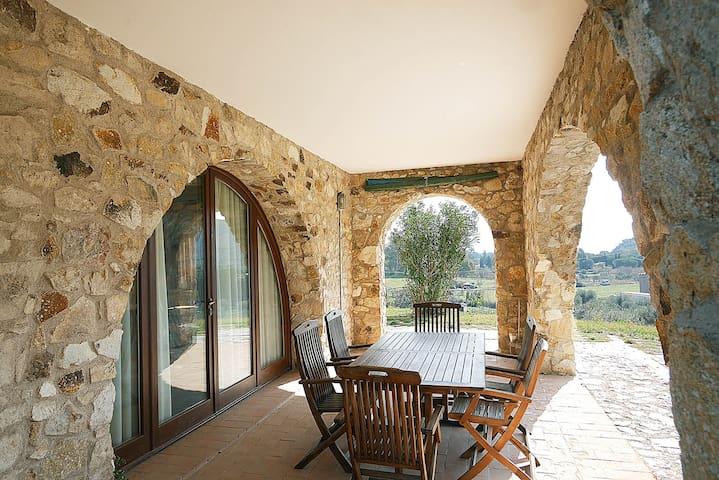 Bilocale in antico casale a pochi passi dal mare - Lacona - Apartament
