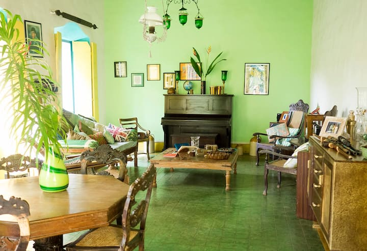 Goan Heritage Homestay, private, luxury + pool