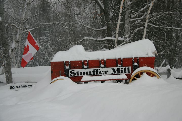 Winter at Stouffer Mill