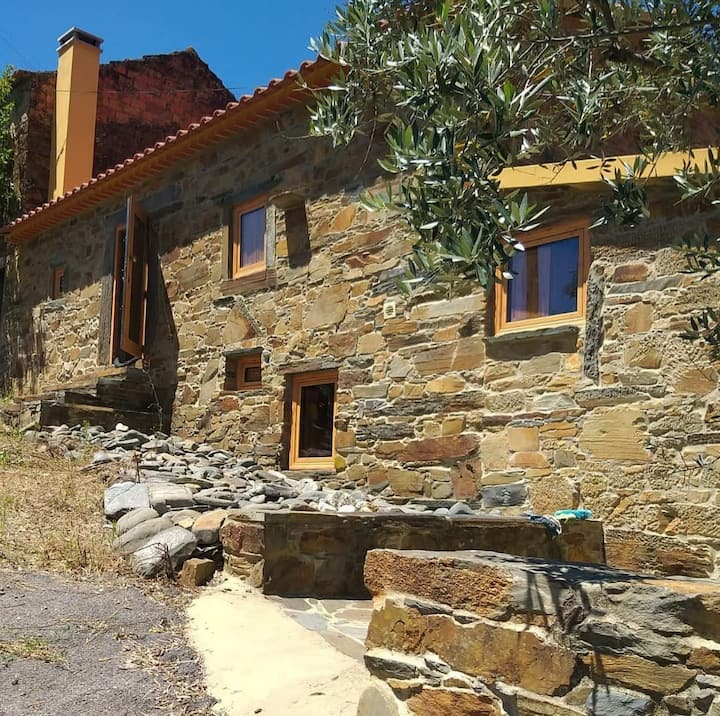 No encanto da natureza no interior de Portugal