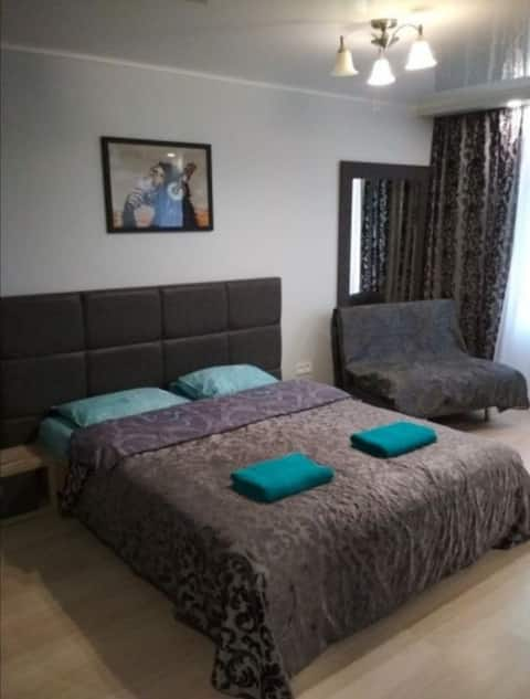 Уютная 1-ком Квартира в Центре Светлово