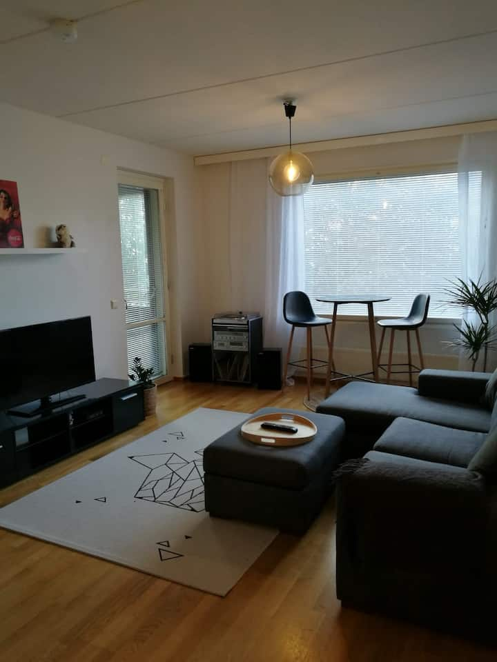 44 m2 Apartment in the Lahti City + parking slot