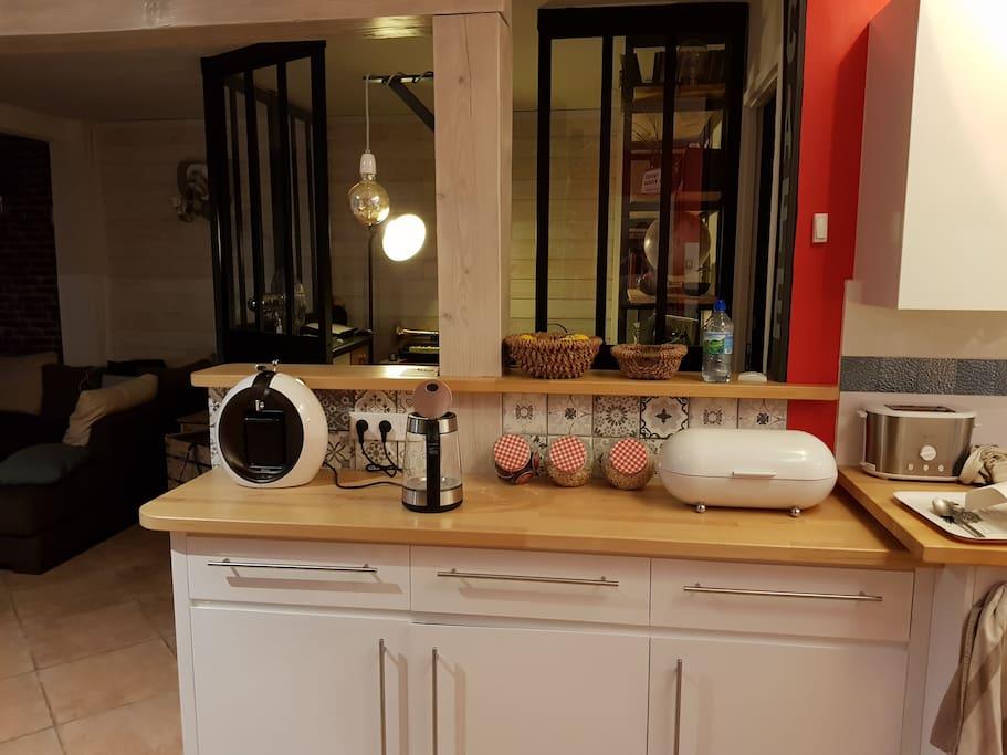 Cuisine et bureau