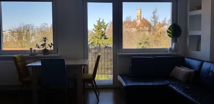 Przytulny Apartament w sercu Malborka