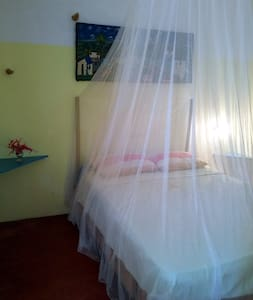 Private room with bathroom and kit - Las Galeras - Haus