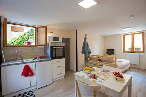 Studio Les Jardins 3 étoiles Gîtes de France