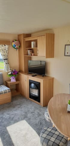 8 berth caravan on the fab Presthaven beach resort