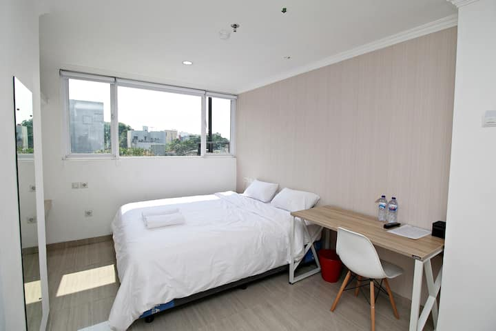Private Room with Hotel Service @ Central Jakarta