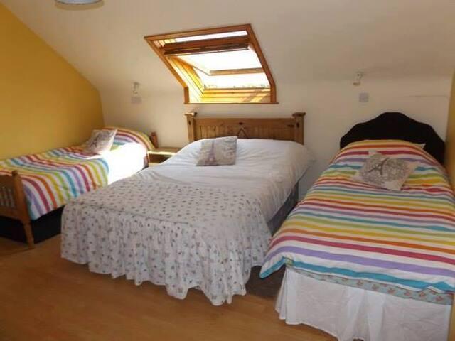 Triple room Garrykennedy - Portroe - House