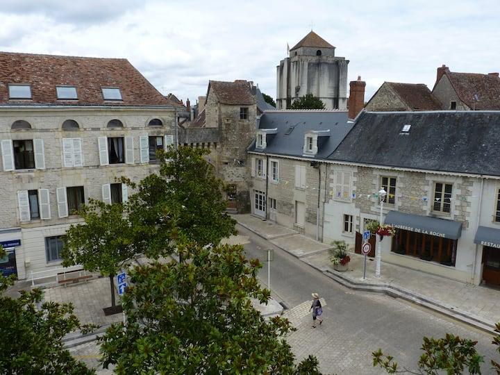Maison meublée pour cure thermale à La Roche Posay