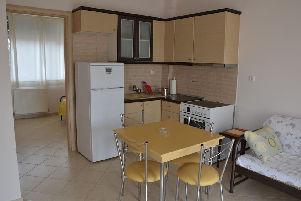 Apt 1. floor: fully equipped kitchen
