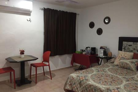 Norte Mérida acogedor depto con aire acondicionado