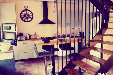 charmante maison de village rénovée ( t3 ). - Buzet-sur-Tarn