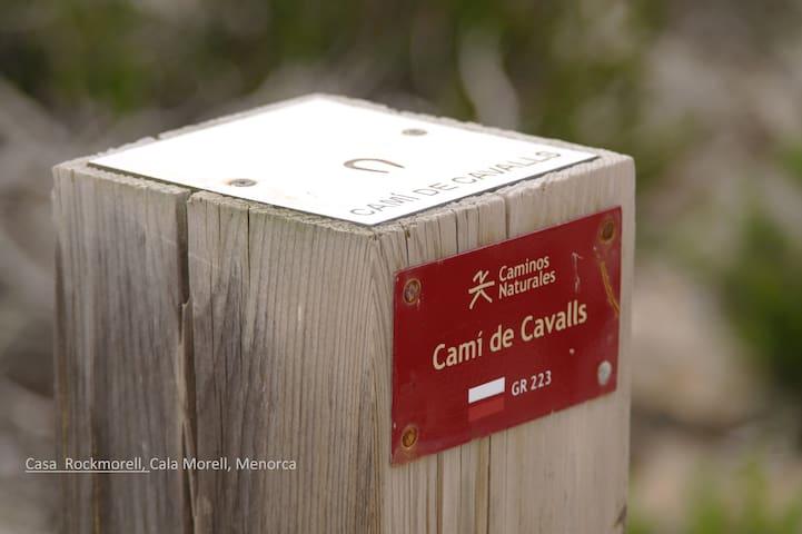 El Camino / Casa Rockmorell, Cala Morell