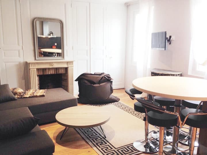 bel appartement 5p centre Chartres avec parking