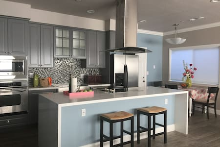 Totally Renovated Modern Blue House - Fremont - House