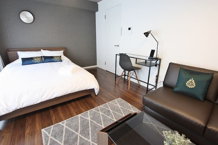 4F■New■24㎡■DBL■Near Tenjin Hakata Canal City■Wi-Fi
