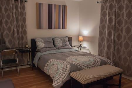 Spaciou Room w/Parking near DOWNTOWN HARVARD BU BC - Boston - Casa