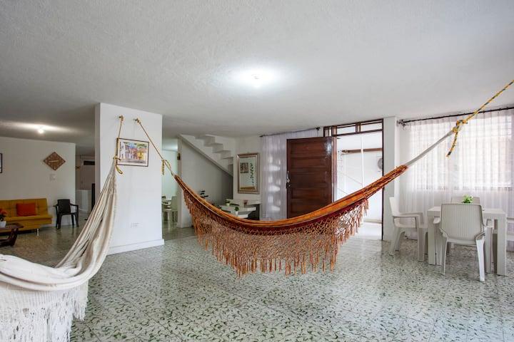 Casa Confortable y bien ubicada en Bocagrande