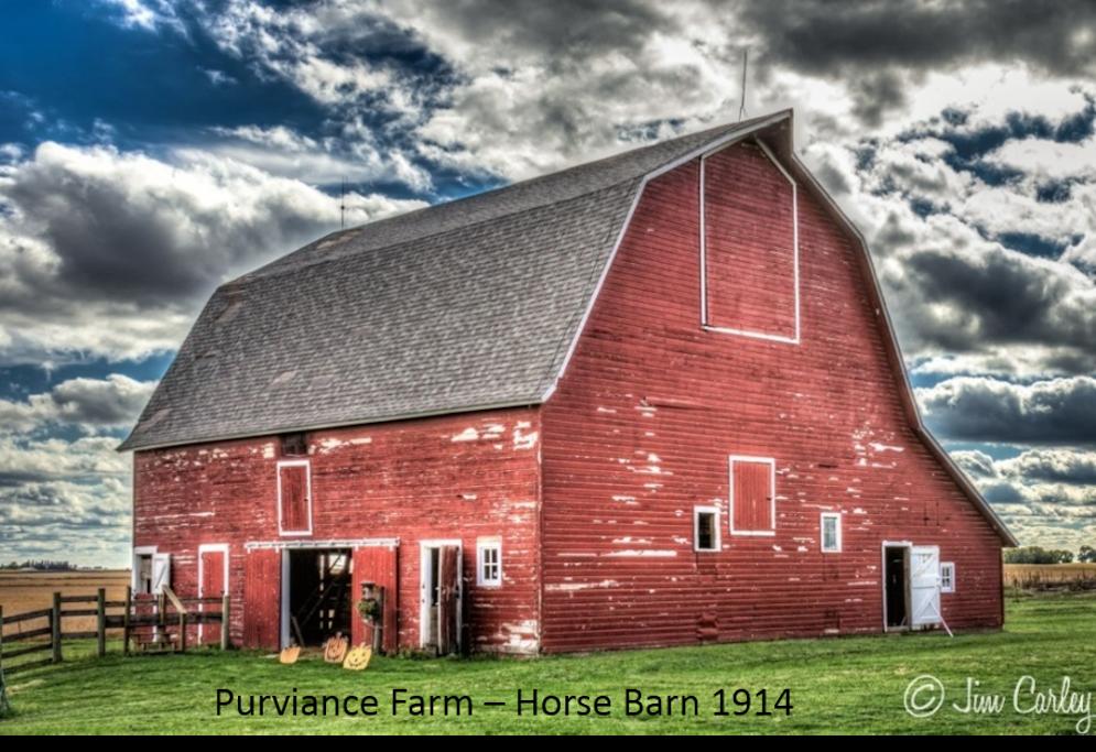 Horse Barn - 1914