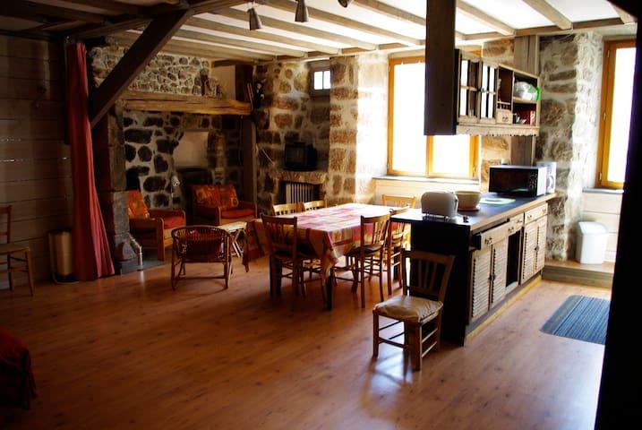 Gite idéal pour vacances familiales et groupes - Le Pont-de-Montvert - Casa de vacances