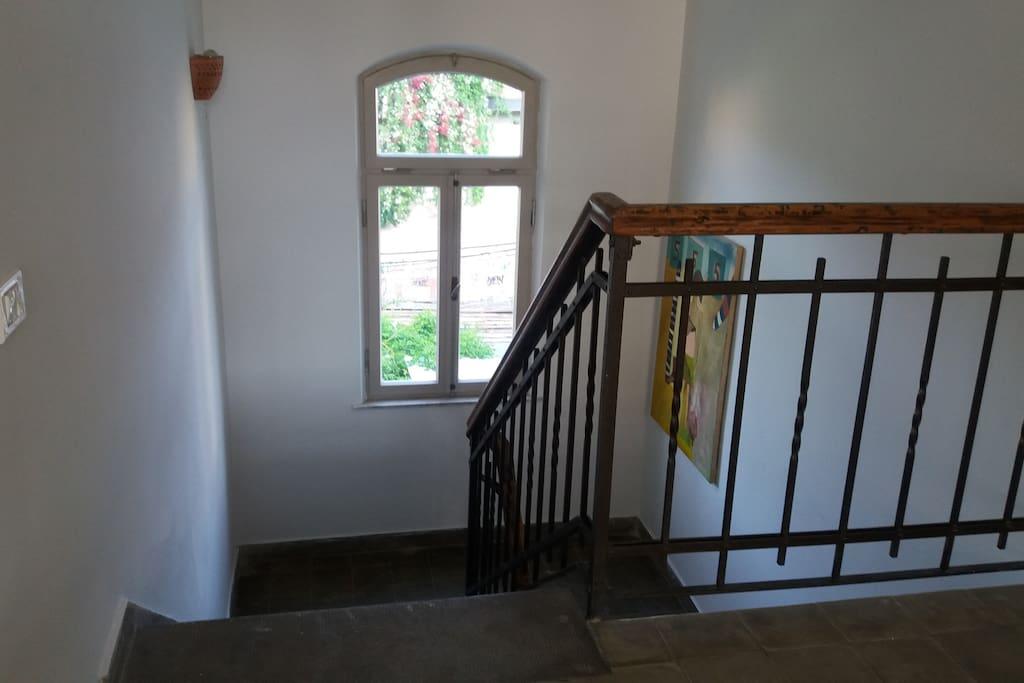 Stairs between 2 floors
