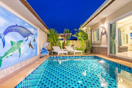 Aonang Sweet blue sea (private pool - Ao Nang - Villa
